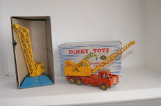 Dinky Toys - Scale 1/48 - Goods Yard Crane No.752 and Coles 20-Ton Crane Truck No.972