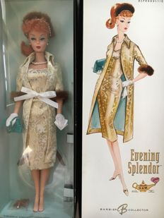 Very rare Silkstone Convention Barbie - Evening Splendor - Mattel - US