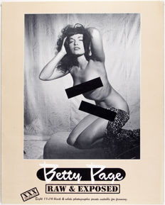 Bunny Yeager (1929 - 2014) – Betty Page Raw & Exposed (Portfolio) - 1954