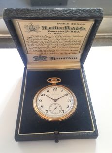 Hamilton pocket watch - USA 1900s