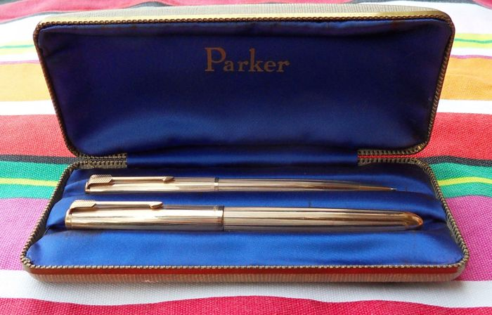 Parker '51' Insignia Set + Box  Near Mint