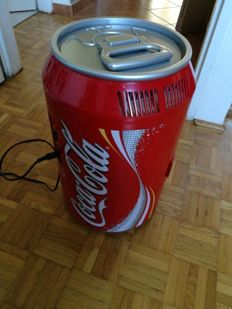 COCA COLA refrigerator / thermo heater. COCA COLA multifunctional can. COCA COLA box - large scale 0.33l cans. Almost not used.