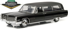 Greenlight - Scale 1/18 - Cadillac S & S Limousine Hearse 1966