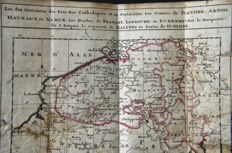Atlas; J. Danckerts - Pocket atlas of The Netherlands - 1699