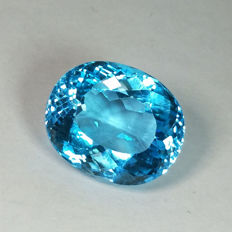 Swiss Blue Topaz - 28.12 ct