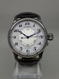 Longines Weems Second Setting Watch 47mm - L2.713.4 - Mens Wristwatch