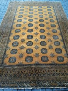 Hand-knotted Oriental Afghanistan - Bukhara 3,02m x 1,93m