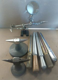 Tools for goldsmith
