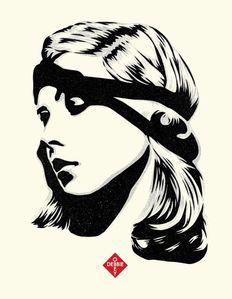 Shepard Fairey (OBEY) - Debbie Harry, Destiny