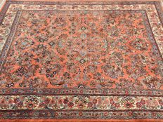 Persian SAROUK with certificate of authenticity - approx. 272 x 205cm - condition: In mint condition