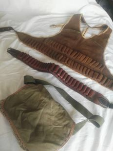 Lot of hunting accessories
