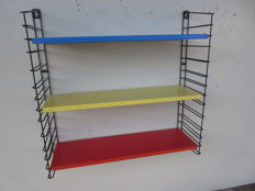 A. Dekker by Tomado - bookshelf/wall rack in the primary colours