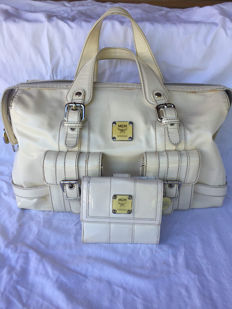 MCM - Patent Leather Satchel bag and wallet - *No Minimum Price*