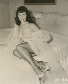 Betty Page & Tana Louise - 1950s