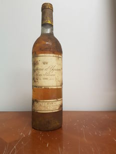 1980 Chateau d'Yquem - Lur Saluces - Sauternes 1er Cru Superieur - 1 bottle 75 cl