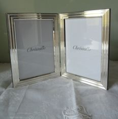 Superb double picture frame from Christofle brand
