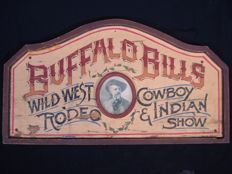 Buffalo Bill - Cowboy & Indian show - Ca. 1900, USA