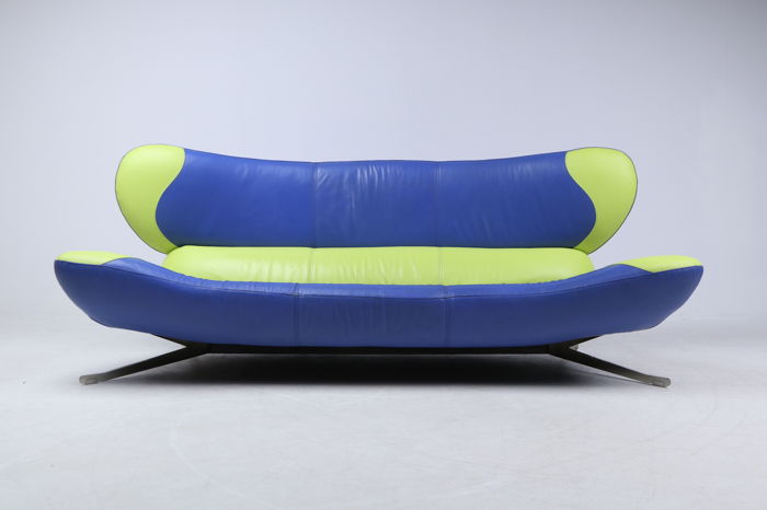 daniel francesco landini for poltromec designer sofa model ati design frog