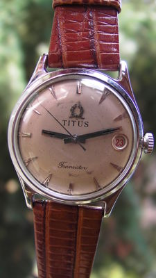 TITUS Geneve  Swiss made - Mens - 1960 - automatic - 17 Jewels