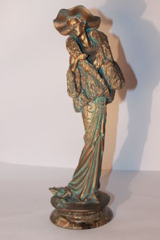 Sculpture of a gala woman- Second half of the 20th century