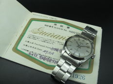 1969 ROLEX OYSTER 6426 WITH ORIGINAL SILVER DIAL AND PAPER