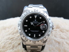 2002 ROLEX EXPLORER 2 16570 BLACK DIAL (SEL) MINT CONDITION