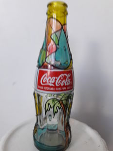 Collector Coke cola bottle
