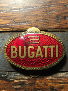Bugatti brooch, button badge, lapel badge, ornamental piece - ca. 1930