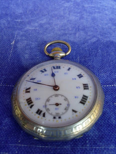 Pocket watch -- Horlogerie Soigree -- Men's