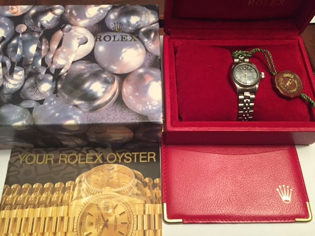 Rolex - OYSTER PERPETUAL  LADY - 6723 - Dames - 1990-1999