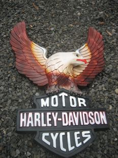 Harley Davidson wall relief