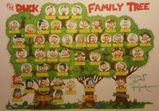 Rosa, Don - Signed Print - The Duck Family Tree
