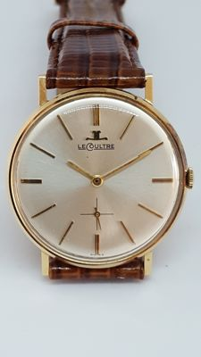 LeCoultre 18K solid gold watch in original box - Men's - 1950-1960