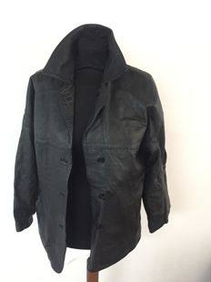 Burberrys leather jacket / trench coat