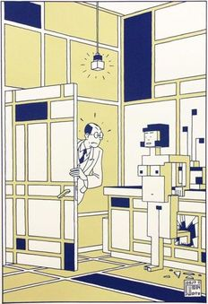 Joost Swarte - The future of Piet Mondriaan