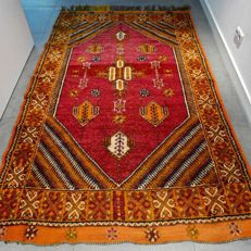 Extraordinary Turkish nomad rug - 245 x 150 - gorgeous and colourful appearance