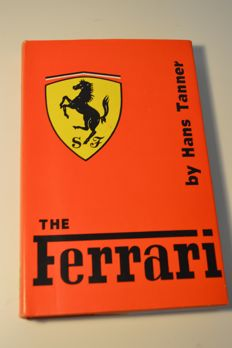 Ferrari  - Hans Tanner First Edition - English, 1959!