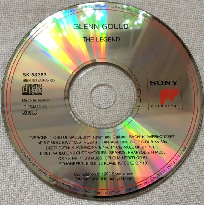 labels for cds