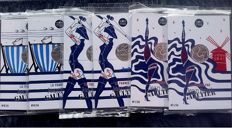 "France - 10.00 Euro 2017 - Silver ""Jean Paul Goutier"" - (6 pieces)"