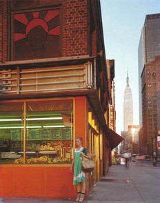 "Joel Meyerowitz (1938-) - ""Young Dancer"" - New York City - 1978"