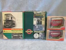 EFE Exclusive First Edition - Scale 1/76 - Lot with 6 model including 2 sets: Routemaster, Regent, Atlantean and Bristol