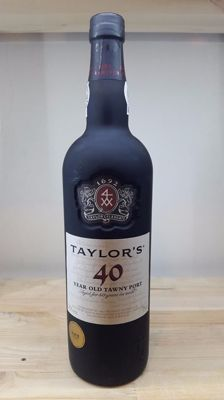40 year old Tawny Port Taylor's - bottled in 2016