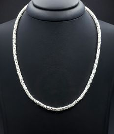925 Silver Men's Chain 70 Cm