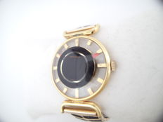 "Juvenia - Retro vintage rare ""see trough"" watch manual 1970  - manual winding 17 jewel caliber - Women - 1970-1979"