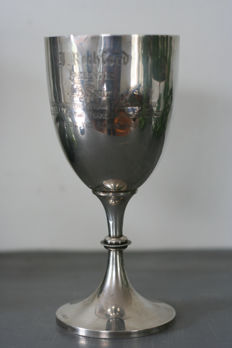 Silver chalice engraved Casuals Football Club and dated 1909 - Birmingham - 1909