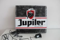 Original large Jupiler illuminated advertising - Late 20th century