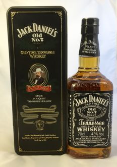 Jack Daniel's - Old Time Tennessee Whiskey - Old No.7 Brand  - from 1990s