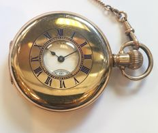 Waltham Gold Plated Pocket Watch - USA, 1890s