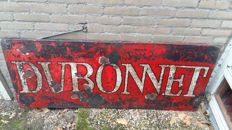 Vintage Enamel Belgian advertising sign Dubonnet