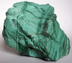 Large block of Malachite from DRC - 14x12x9cm - 2kg
